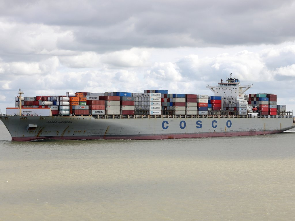 Groß-Containerschiffe - CMA CGM