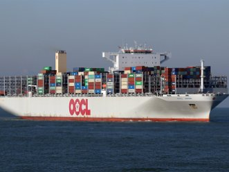 Containerschiffe Container ships